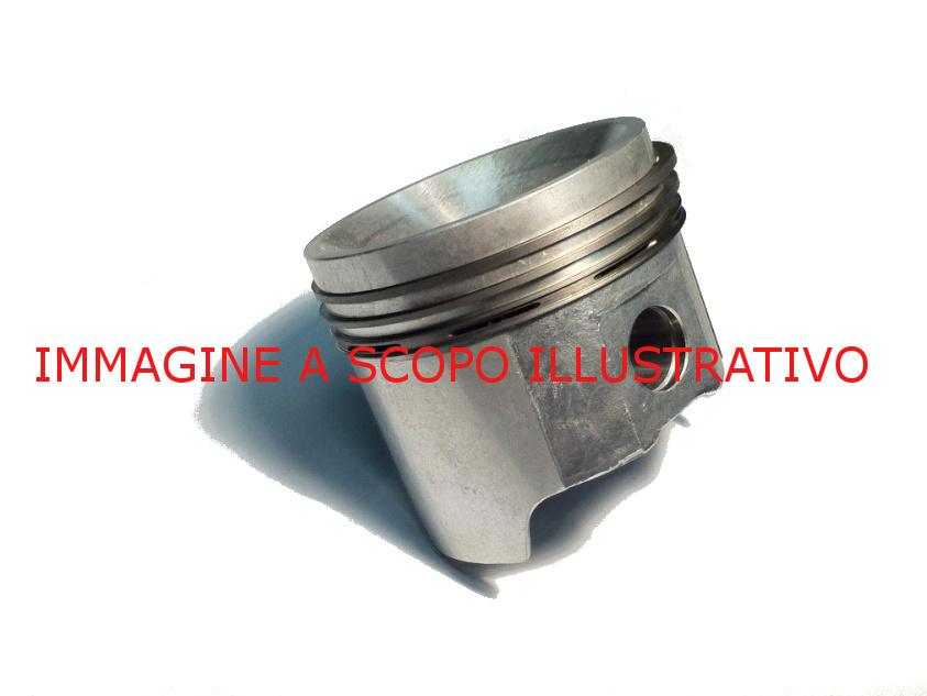 Complete Piston For Lombardini Engines Lap 490 Ii Ret