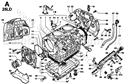 Picture for category CRANKCASE/ OIL SUMP/ OIL DIPSTICK/ THROTTLE COVER/ GASKET SET