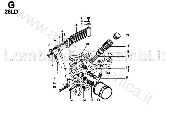 oil filter   oil cooler spare parts for oil filter   oil cooler