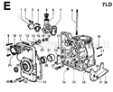 Picture for category CRANKCASE/ GEAR COVER/ MOUNTS/ BREATHER