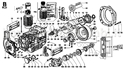 Picture for category CONN.ROD/ PISTON/ CYLINDER/ CRANKSHAFT/ FLYWHEEL/ CRANKCASE/ FLANGING/ MOUNTS