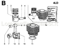 Picture for category CONNECTING ROD/ PISTON SET/ CYLINDER