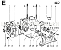 Picture for category CRANKCASE/ GEAR COVER/ MOUNTS